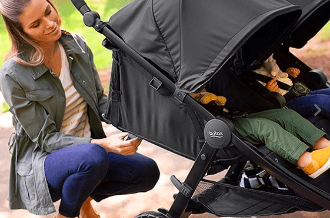 britax b-lively double