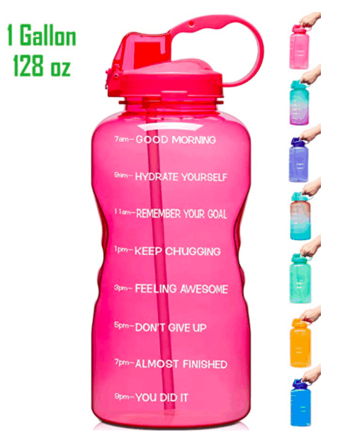 water bottle postpartum recovery
