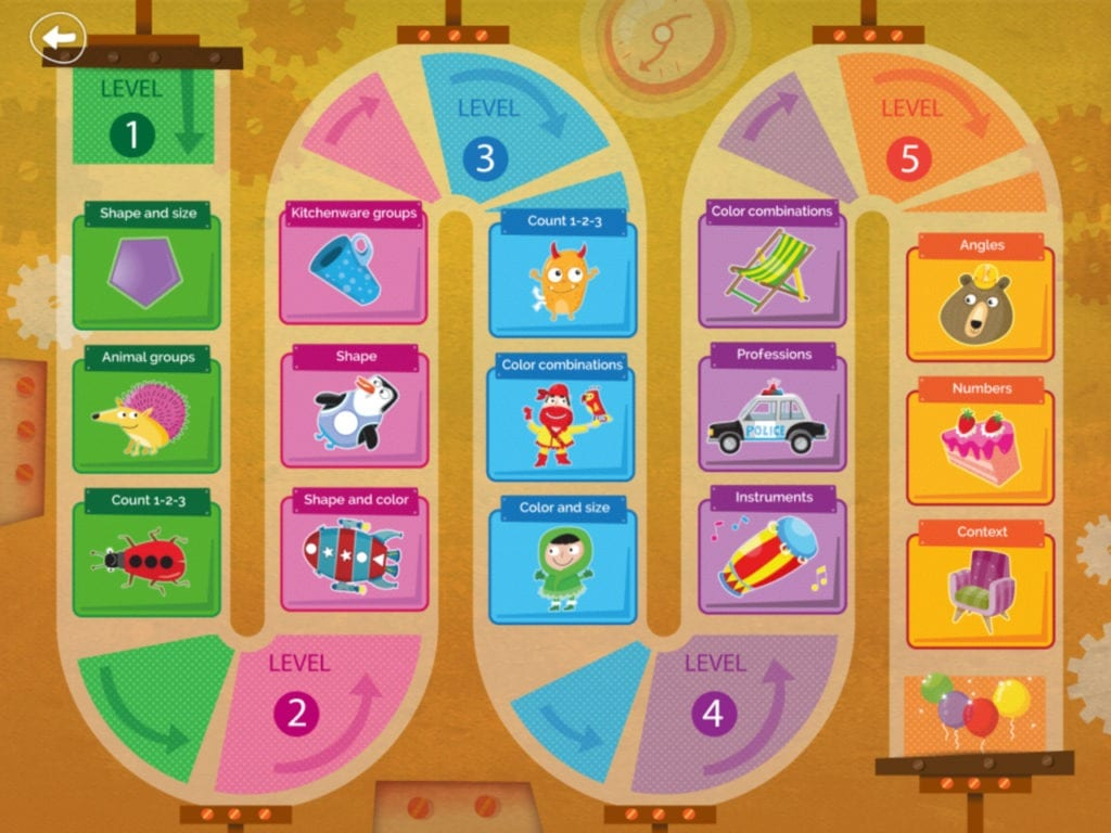 kids game Apps for Ages 2-6