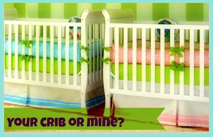 Your crib or mine?