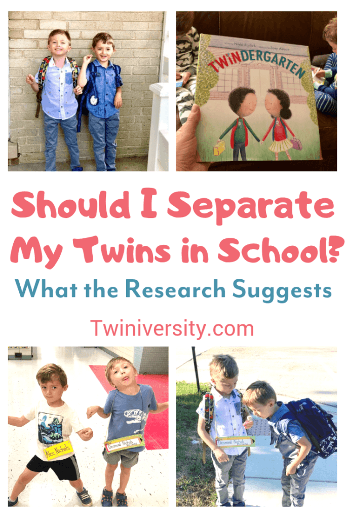 Should I Separate My Twins in School? What the Research Suggests