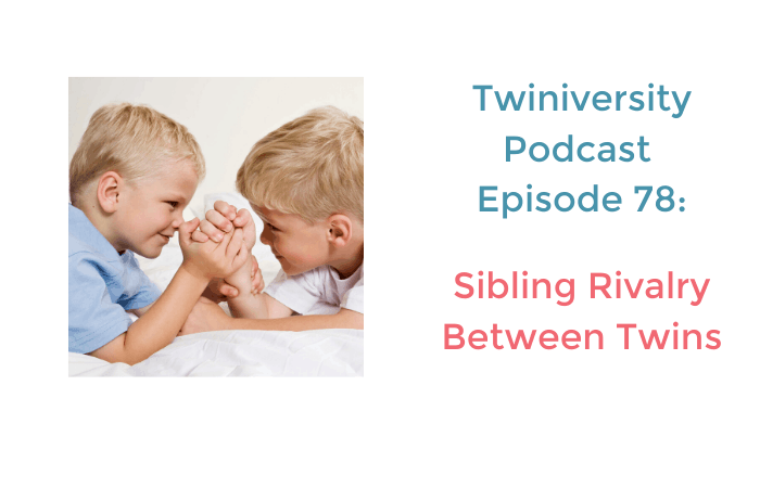 sibling rivalry between twins