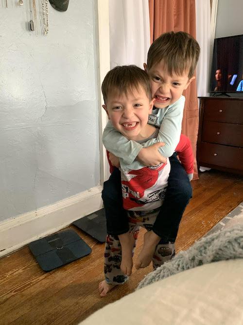 navigating twin 5 year old boys