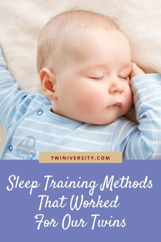 Sleep Training Methods That Worked For Our Twins