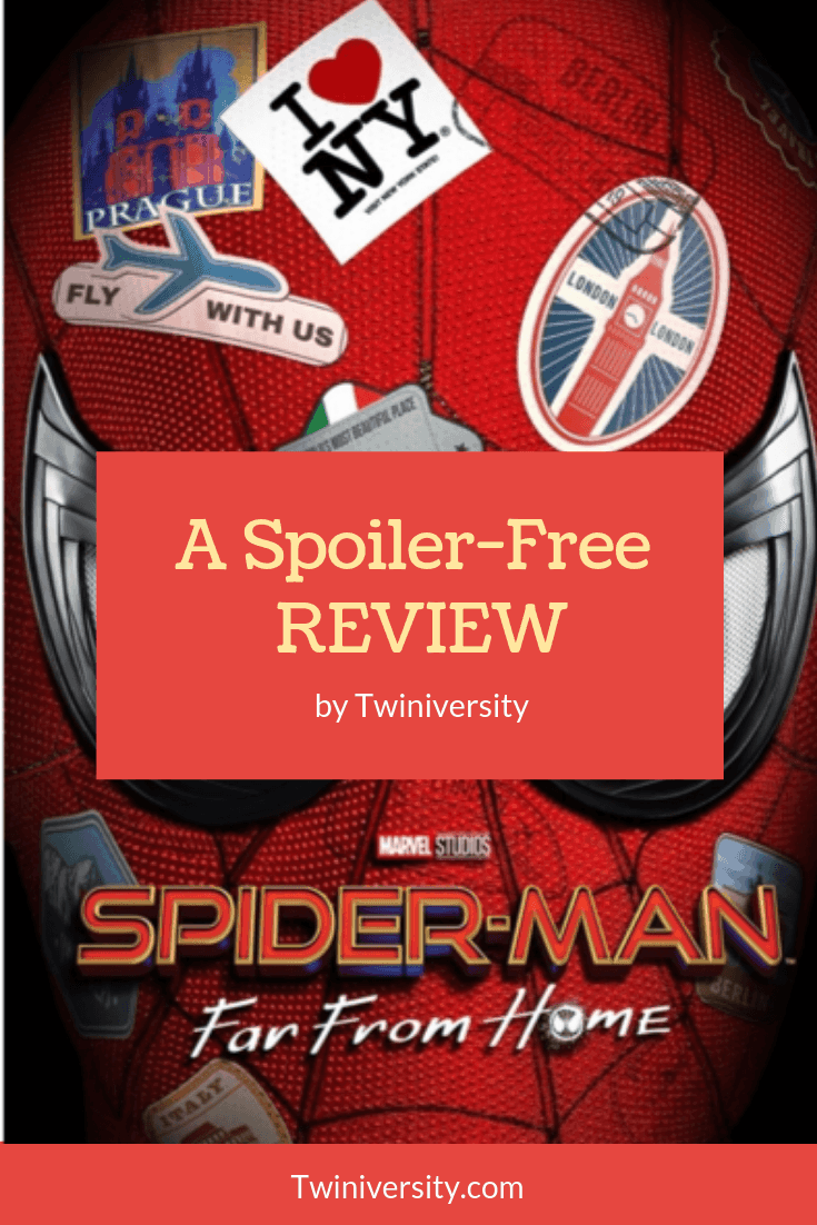 A Spoiler-Free Review of Sony's Spider-Man: Far From Home (2019