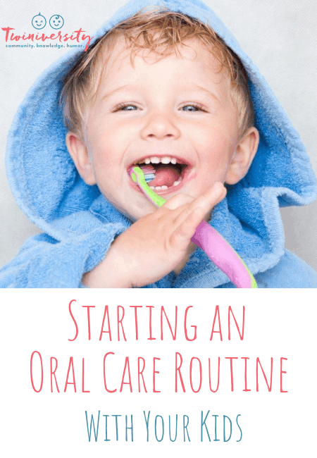 Starting an Oral Care Routine with Kids