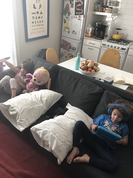 home with twins