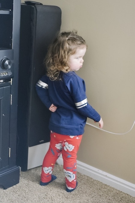 girl in time out strong-willed child