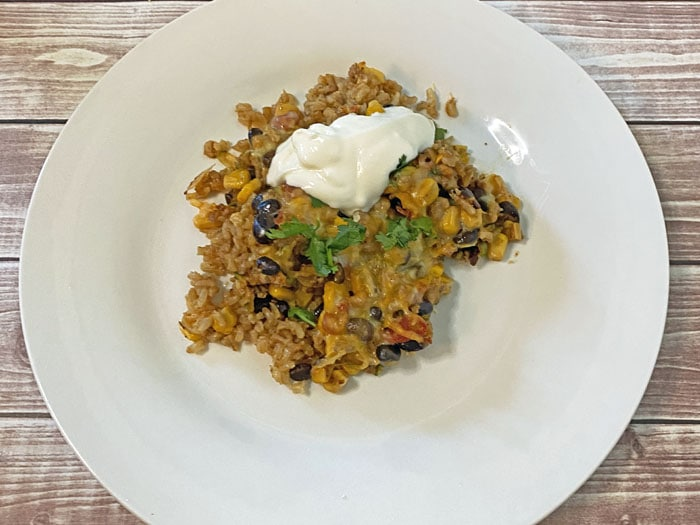29-minute taco casserole