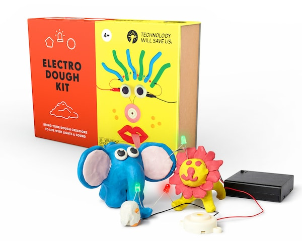 electro dough toys that teach