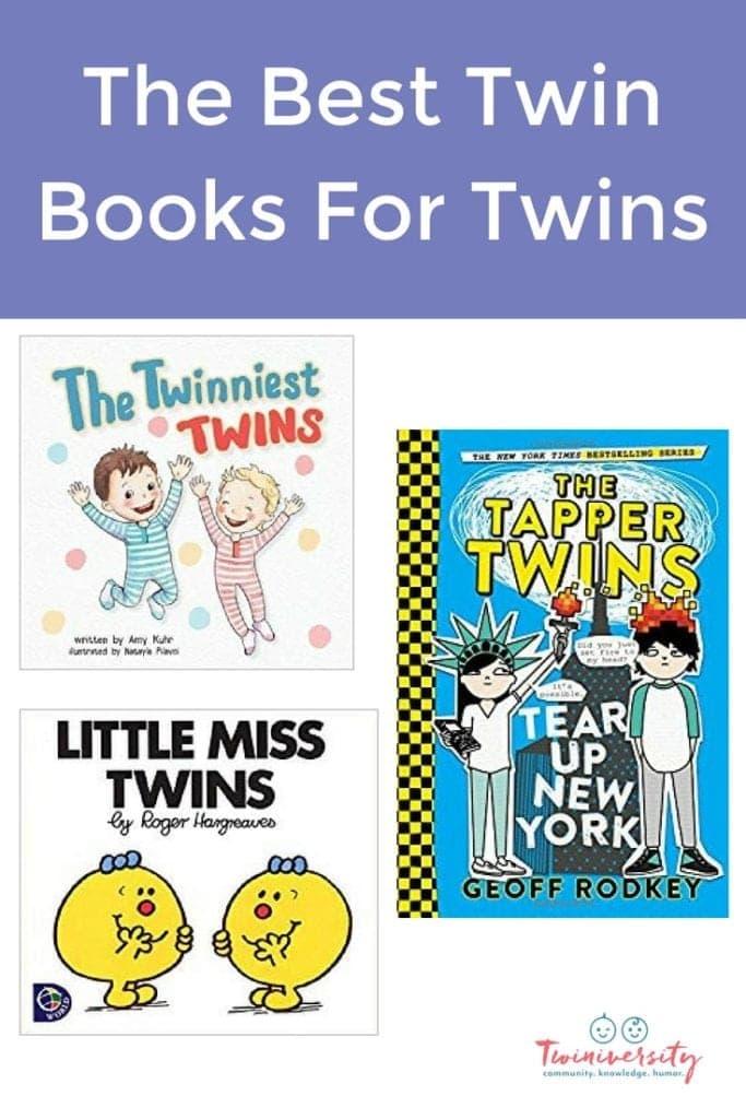 twin books pin
