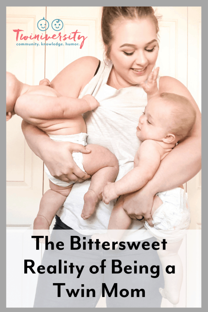 The Bittersweet Reality of Being a Twin Mom