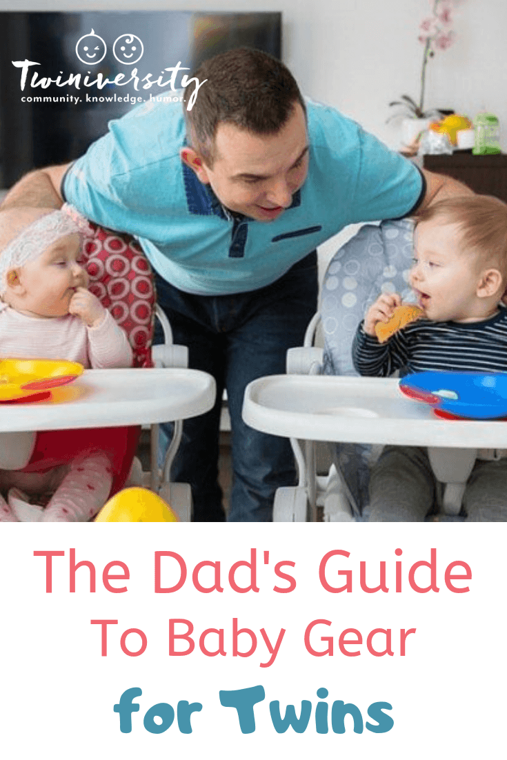 The Dad's Guide To Baby Gear For Twins