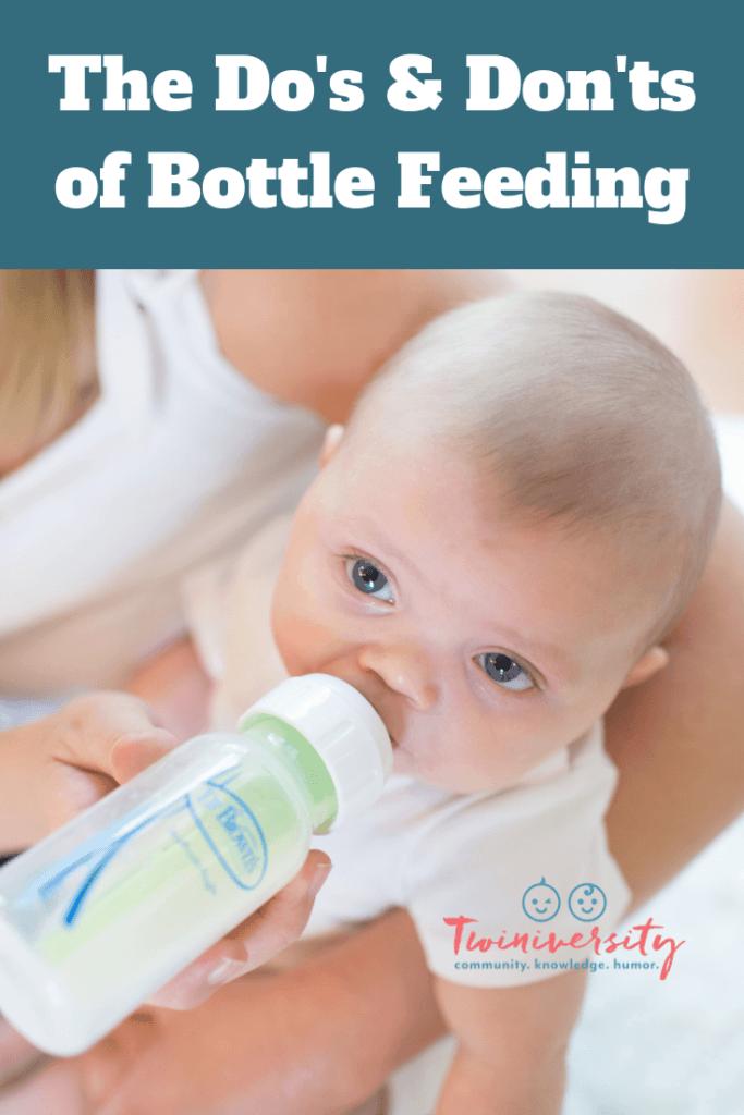 The Do's & Don'ts of Bottle Feeding