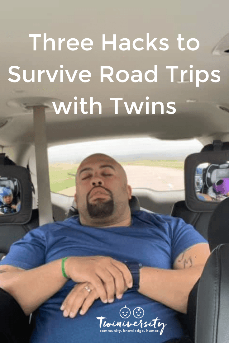 Three Hacks to Survive Road Trips with Twins