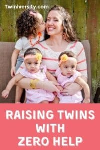 Tips for Raising Twins with Zero Help