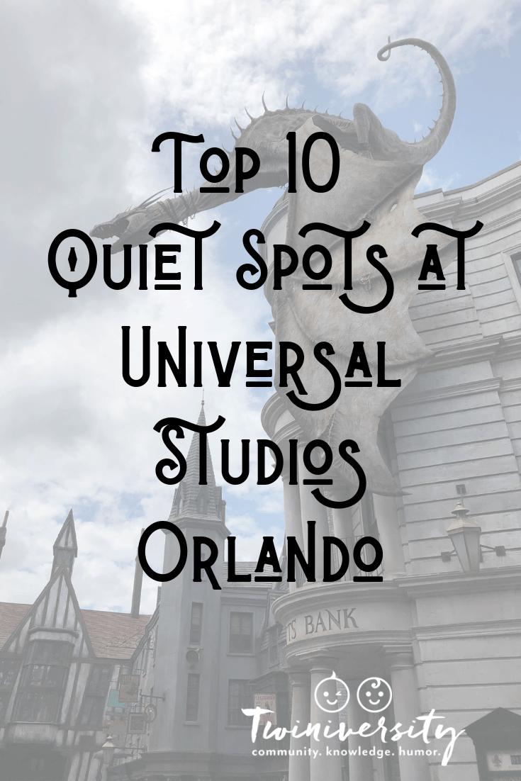 Top 10 Quiet Spots at Universal Studios Orlando