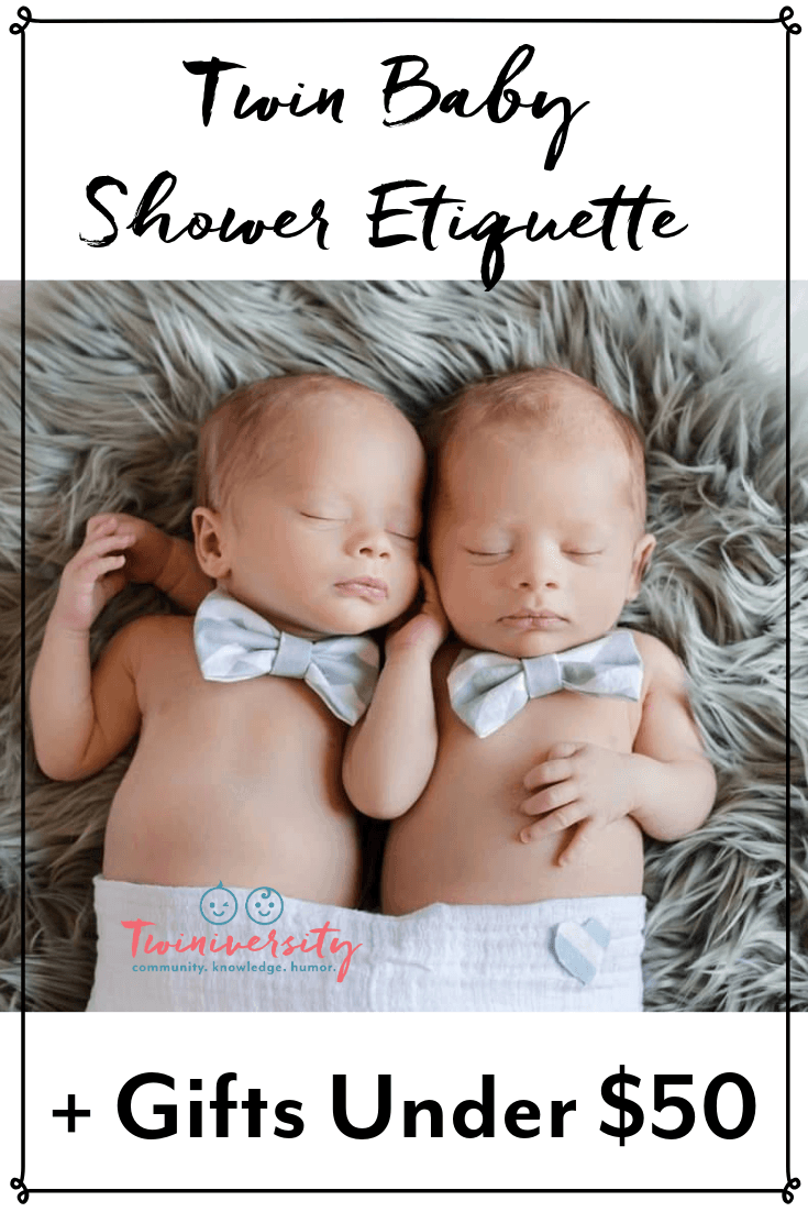 Twin Baby Shower Etiquette + Gifts Under $50