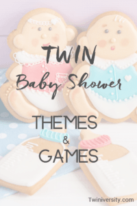 Twin Baby Shower Themes and Games