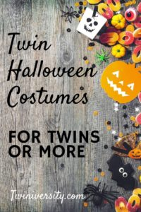 Twin Halloween Costumes for Twins or More!