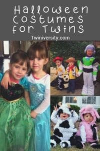 Twin Halloween Costumes for Twins or More