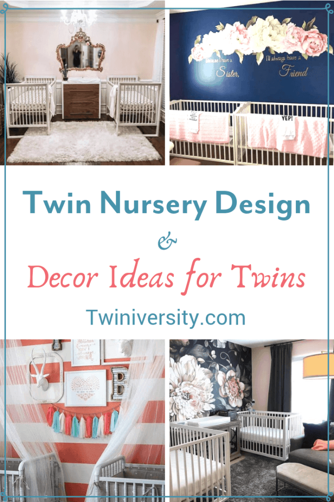 Twin Nursery Design and Decor Ideas for Twins