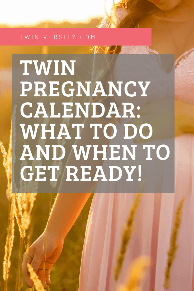Twin Pregnancy Calendar: What To Do and When To Get Ready!