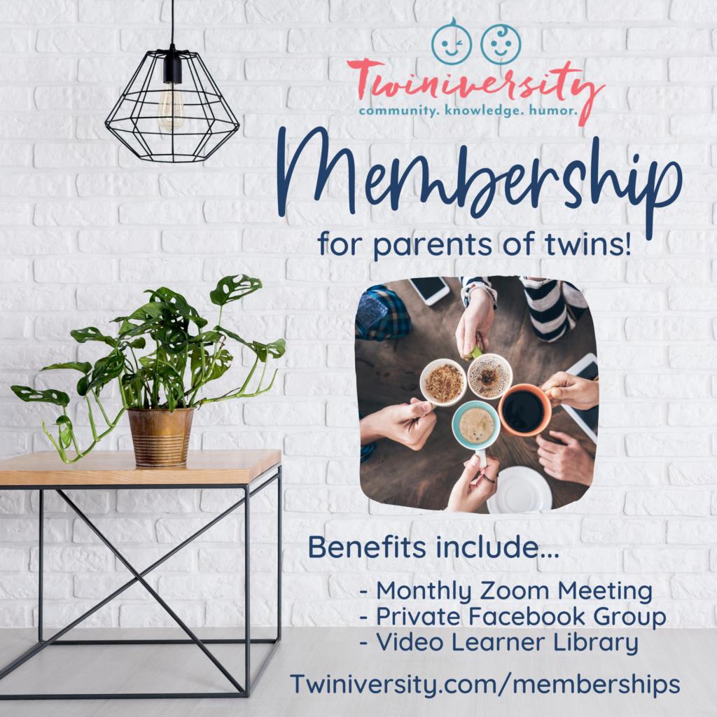 Twiniversity memberships