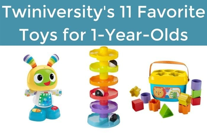 Twiniversity's 11 Favorite Toys for 1-Year-Olds