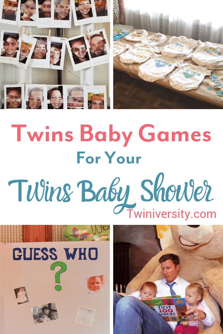 Twins Baby Games for Your Twins Baby Shower