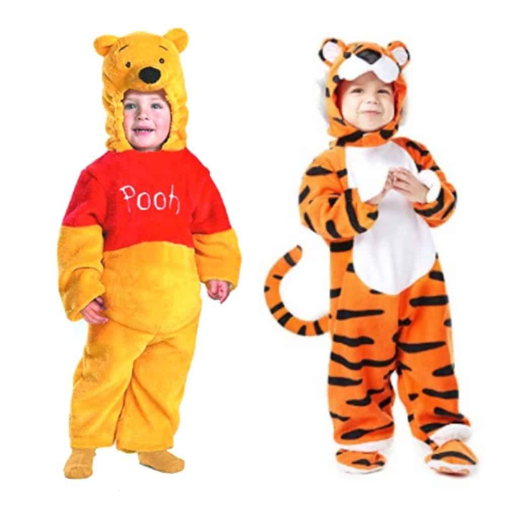 winnie the pooh twins costume