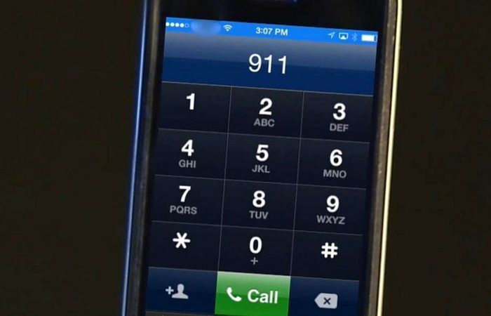 cell phone calling 911