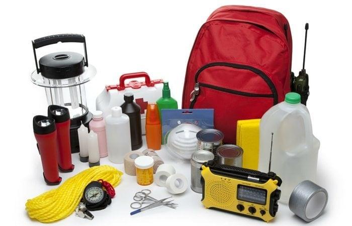 emergency preparation kit