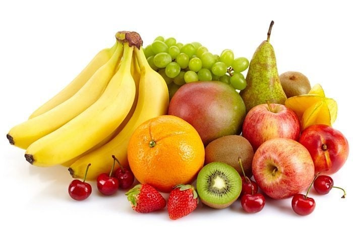 variety of fruit