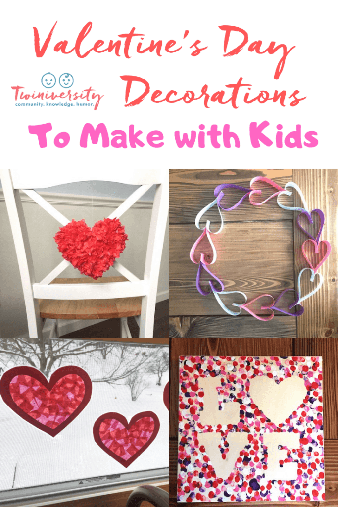 Valentine's Day Decorations to Make with Kids
