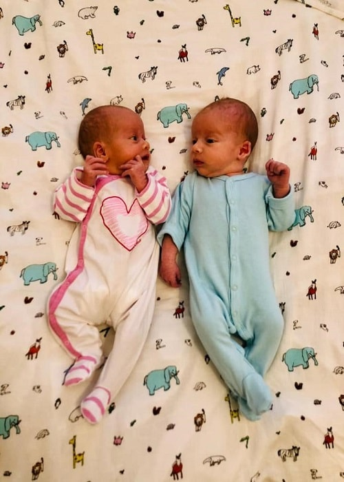 The First Year with Twins Week 4