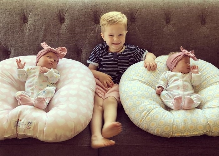 The First Year with Twins Week 5