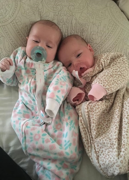 The First Year with Twins Week 8