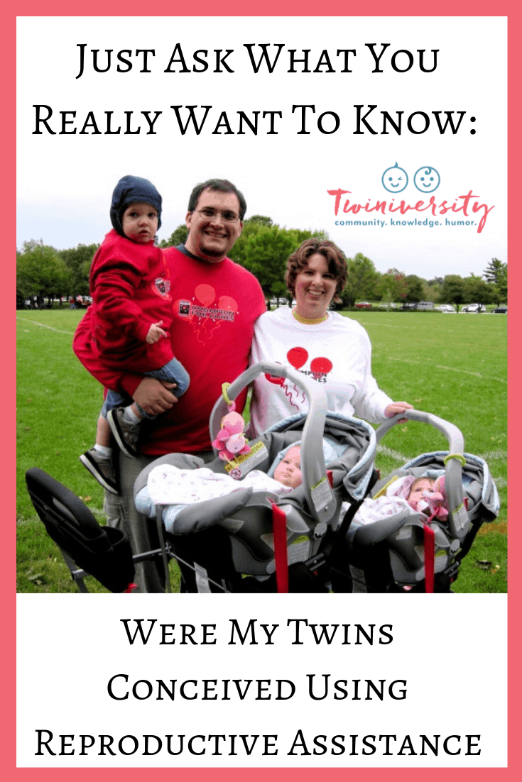 Were My Twins Conceived Using Reproductive Assistance