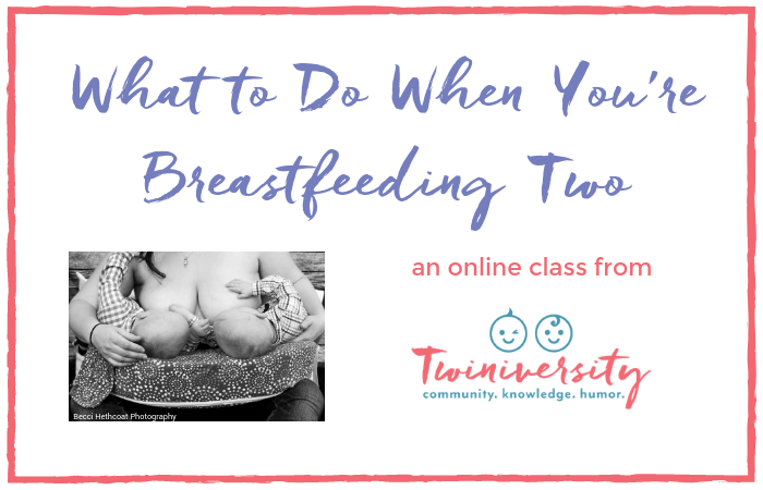 breastfeeding twins class