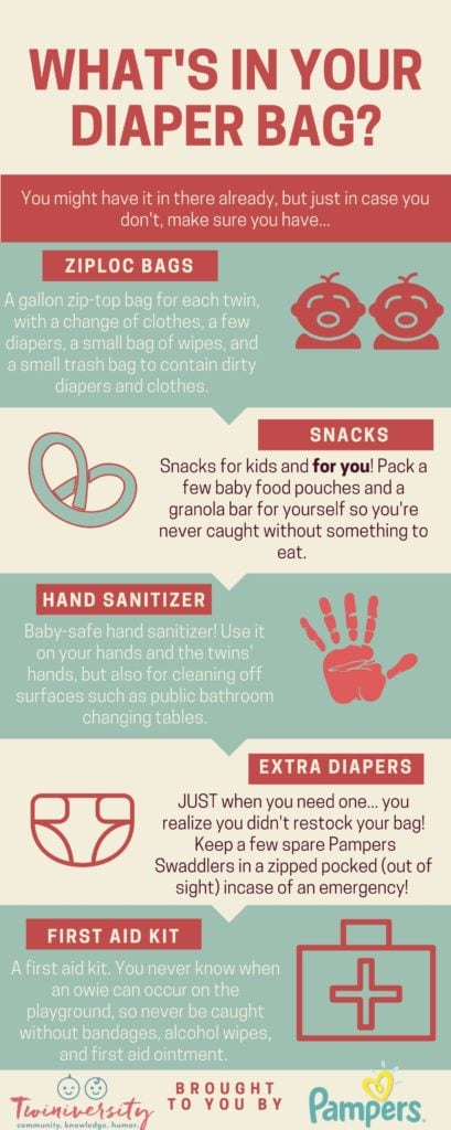 pack in your diaper bag