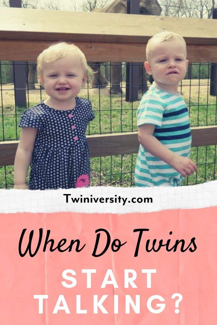 When Do Twins Start Talking
