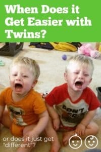 When Does it Get Easier with Twins