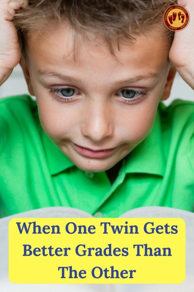 when one twin gets better grades