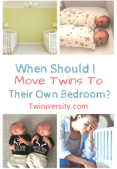 When Should I Move Twins To Their Own Bedroom?