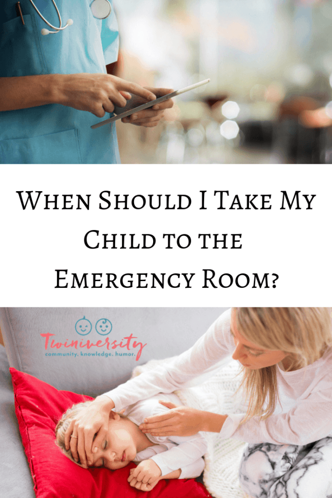 When Should I Take My Child to the Emergency Room?