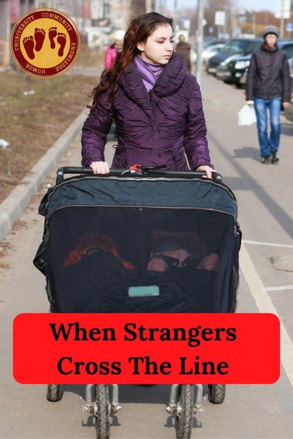 When StrangersCross The Line