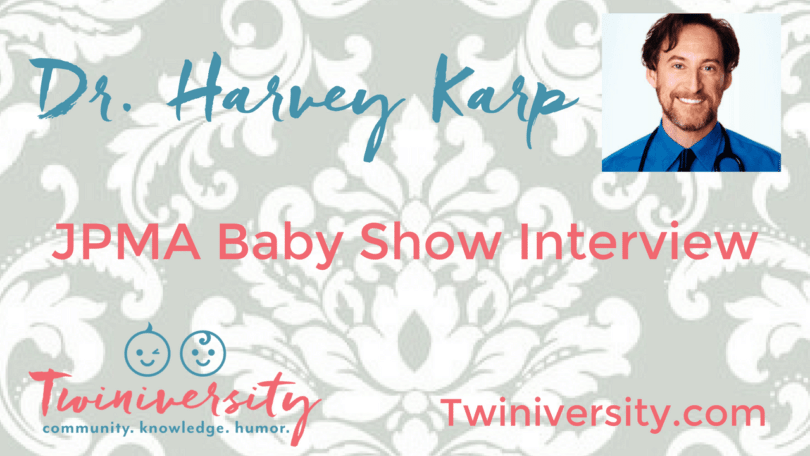 """Nat inteviewed Dr. Harvey Karp -- author of """"The Happiest Baby on the Block"""" and creator of the Snoo smart sleeper -- at the JPMA Baby Show 2017."""