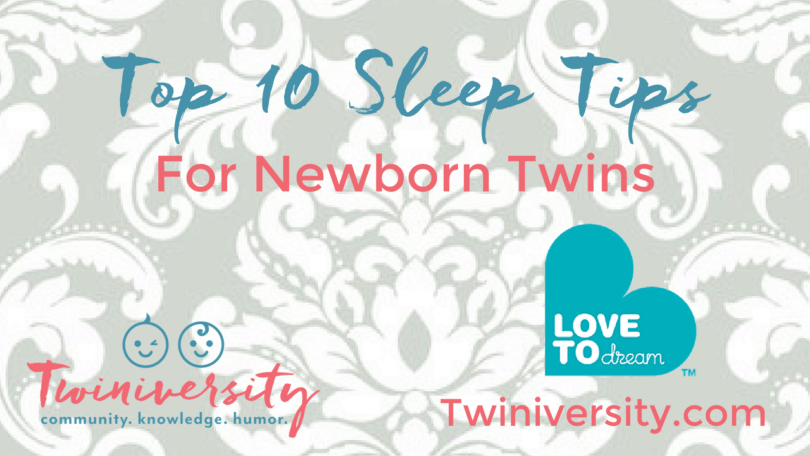 sleep tips for newborn twins