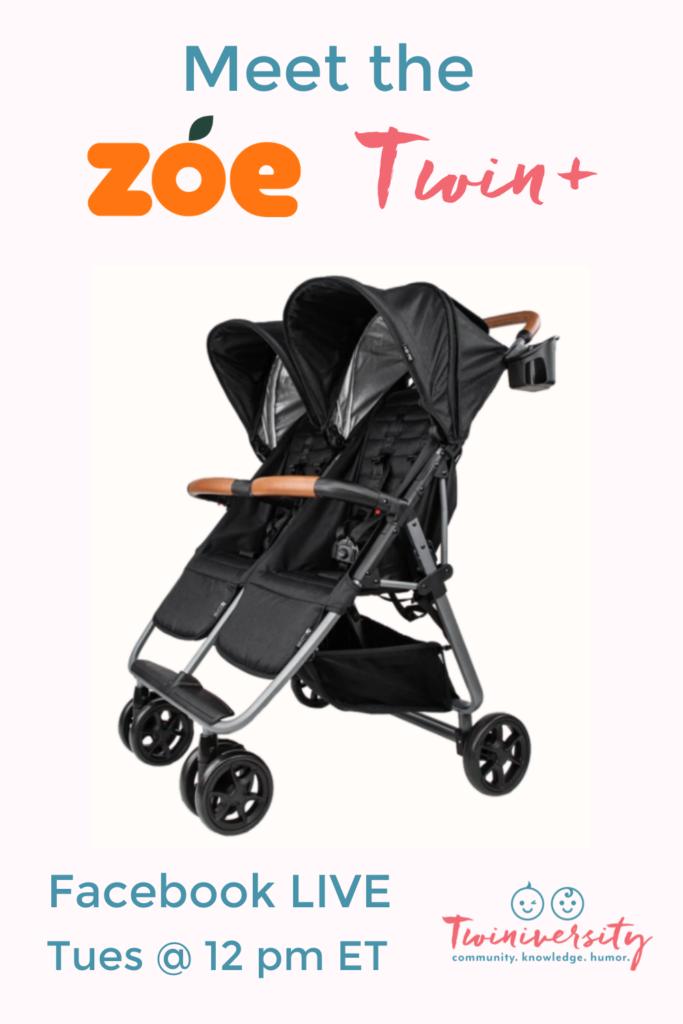 Meet the Zoe Twin+ Stroller Facebook Live